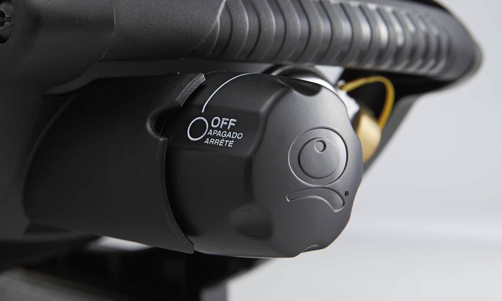 Infinite control burner valve